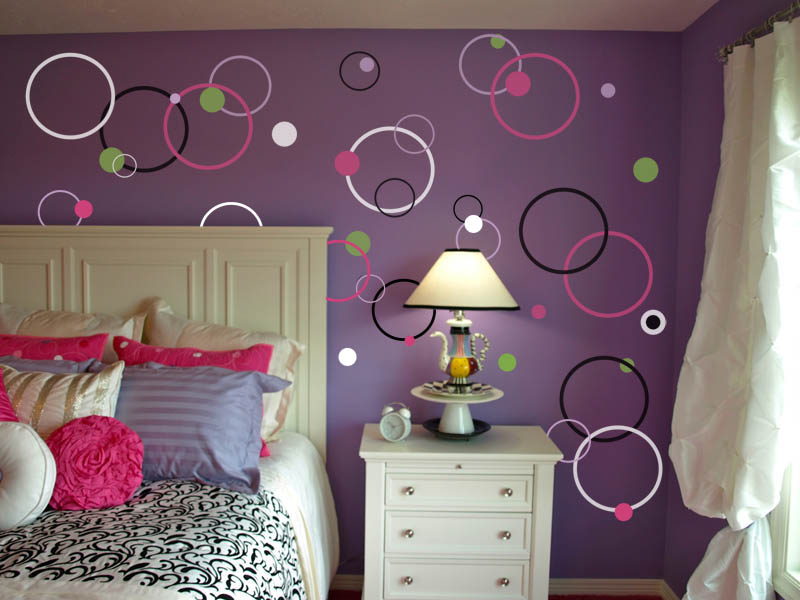 Bubble Dot Circles Wall Decal