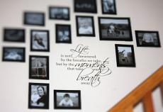 Life is Not Measured Wall Decal