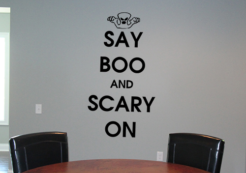 Say Boo And Wall Decal Item Trading Phrases