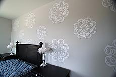 Swirly Circles Wall Decal