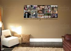 5 x 2 Photo Collage Print