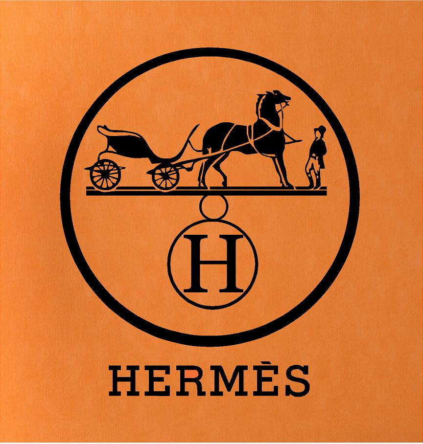 Hermes Circle Wall Decal Trading Phrases