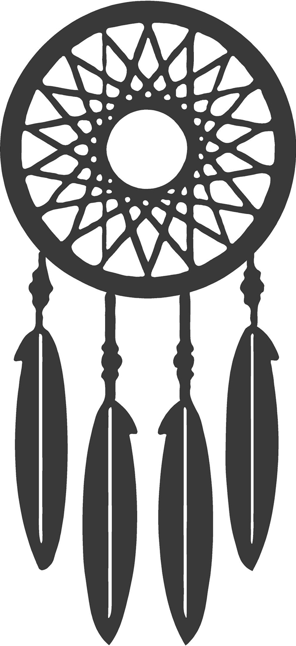 Nest Dream Catcher Wall Decal Trading Phrases