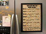 DIY Weekly Menu Project