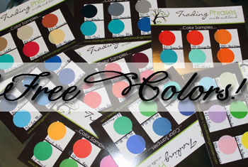 FREE Colors Sent To Your Home!