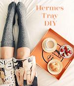 Hermes Tray DIY