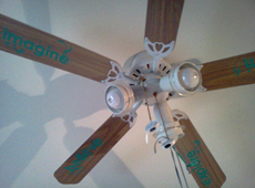 Blogger Review: Be Original - Decals on Ceiling Fans!