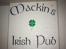 Blogger Review: Personalized Pub Sign Decal
