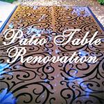 Patio Table Refresh- DIY
