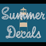 Favorite Summer Themed Wall Decals