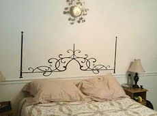 Blogger Review: Wrought Iron Headboard