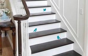 Three Little Birdies Bird Wall Decal