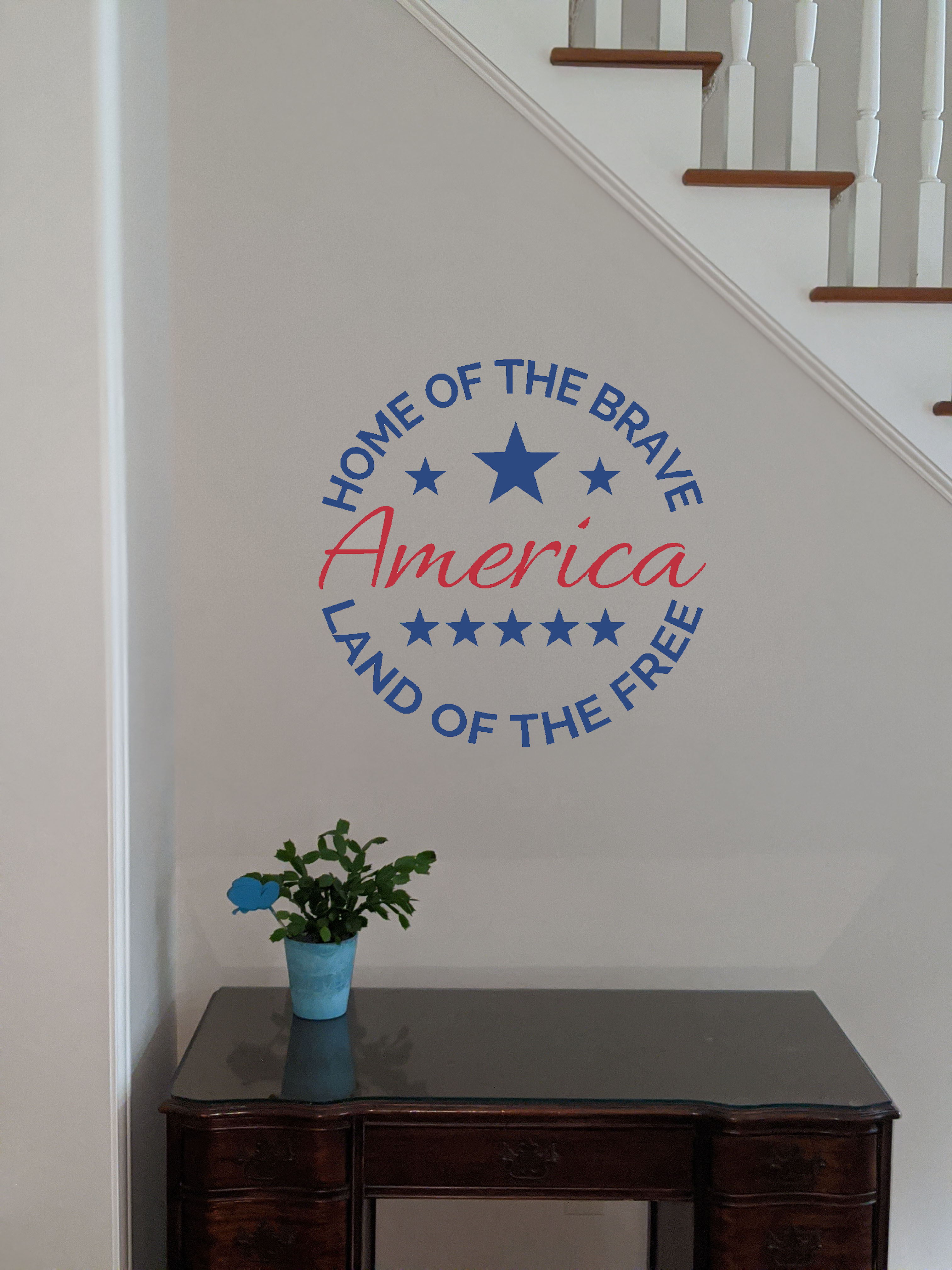 America Home of the Brave Land of the Free