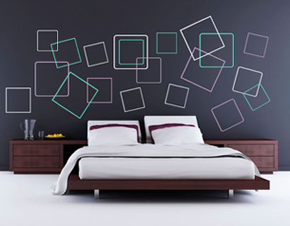 Squares Wall Decal