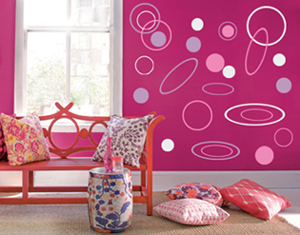 Ovals and Circle Pack Wall Decal