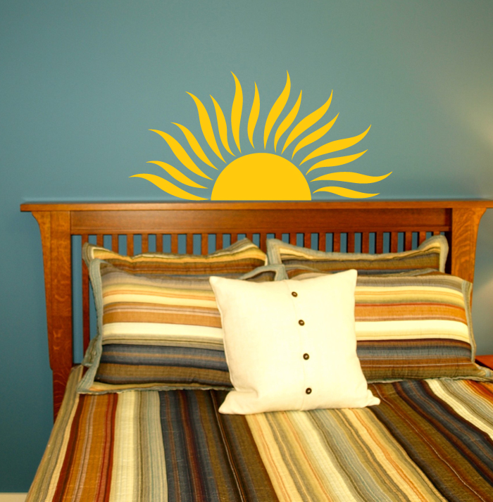 Sun Rays Wall Decal