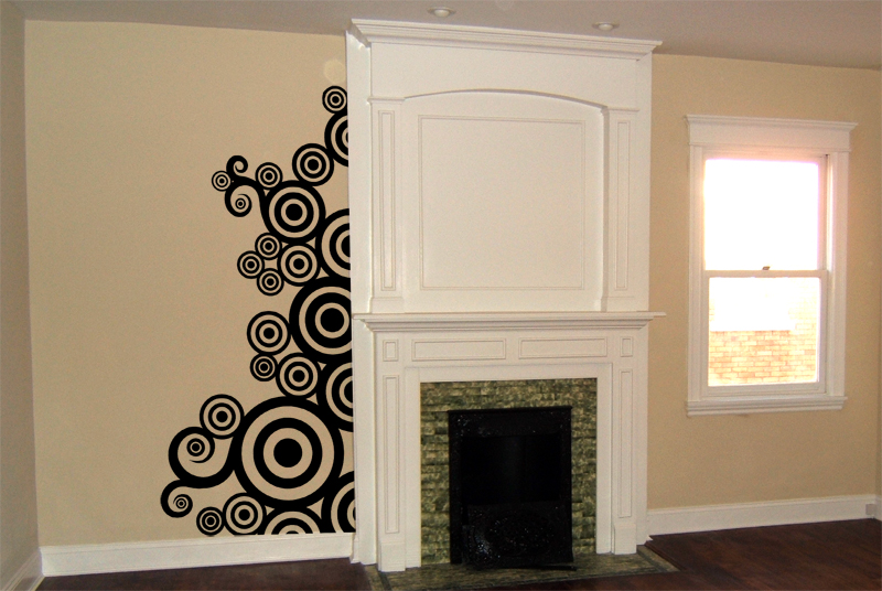Framing Circles Wall Decal