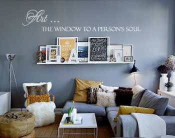 Art A Window Soul Wall Decal