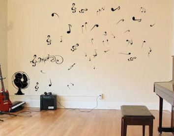 Fan Letters & Fan Notes Artistic Wall Decal