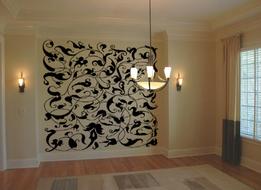 Arabesque Pattern Wall Decal
