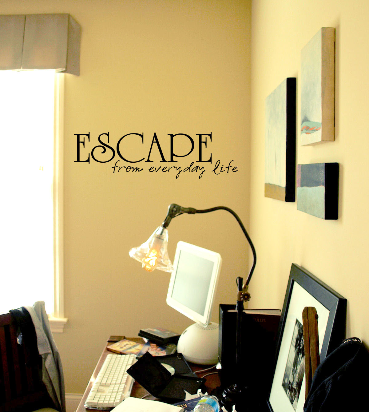Escape from Everyday Life Wall Decals