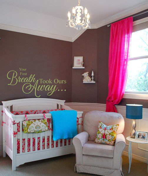 Took Our Breath Away Wall Decal