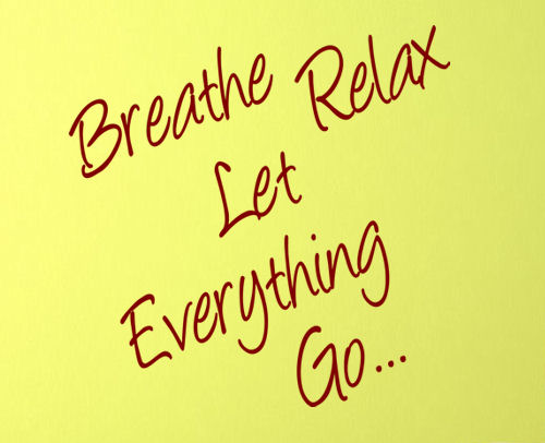 Let Everything Go Wall Decal
