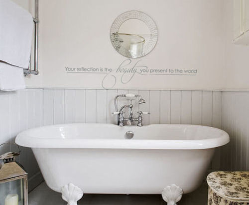 Your Reflection Bathroom Wall Decal