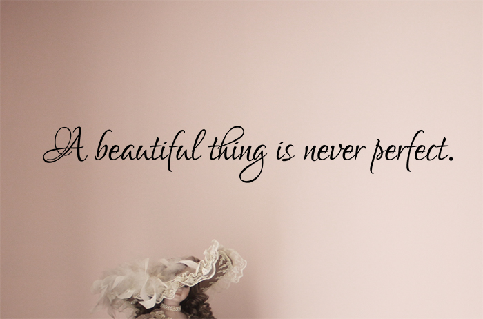 A Beautiful Thing Wall Decal