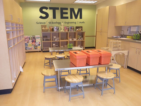 STEM Extended Wall Decal