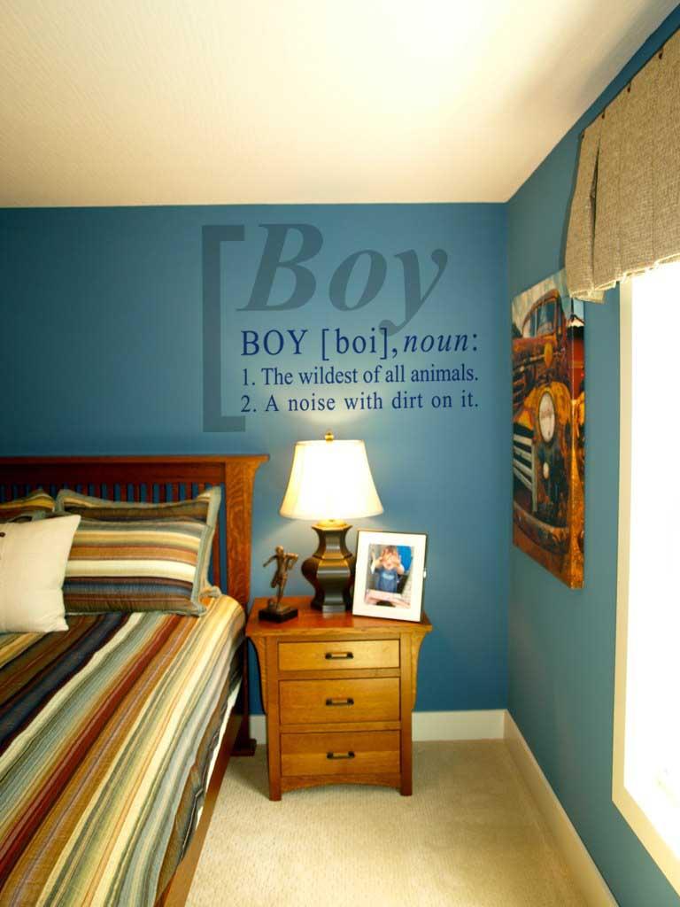 Boy Definition Wall Decal