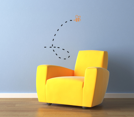 Bugs or Bees Wall Decal