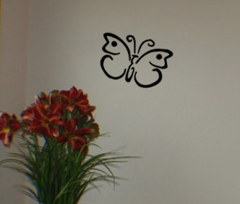 Butterfly Choice 3 Wall Decal