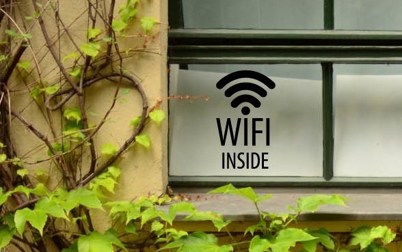 Wifi Inside Wall Decal