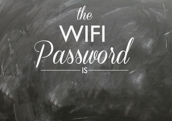 Wifi Password Wall Decal