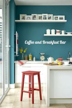 Breakfast Bar Wall Decal
