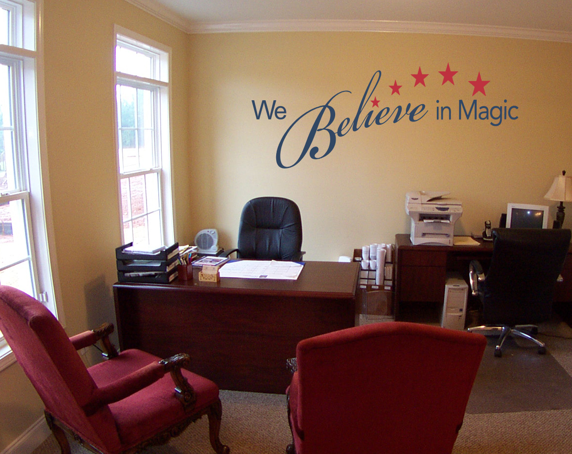 We Believe In Magic Wall Decal