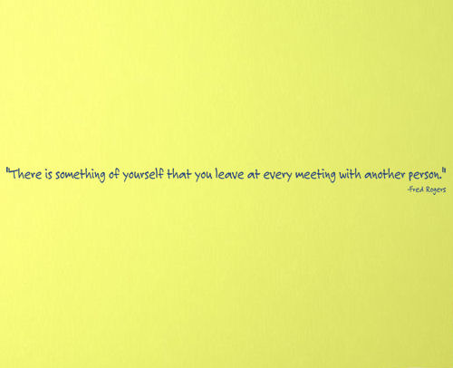 Something Of Yourself Wall Decal