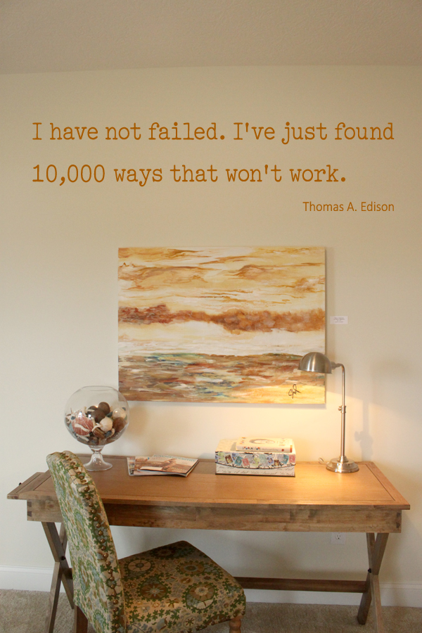Have Not Failed Edison Wall Decal