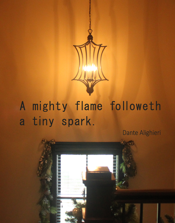 A Mighty Flame Alighieri Wall Decal