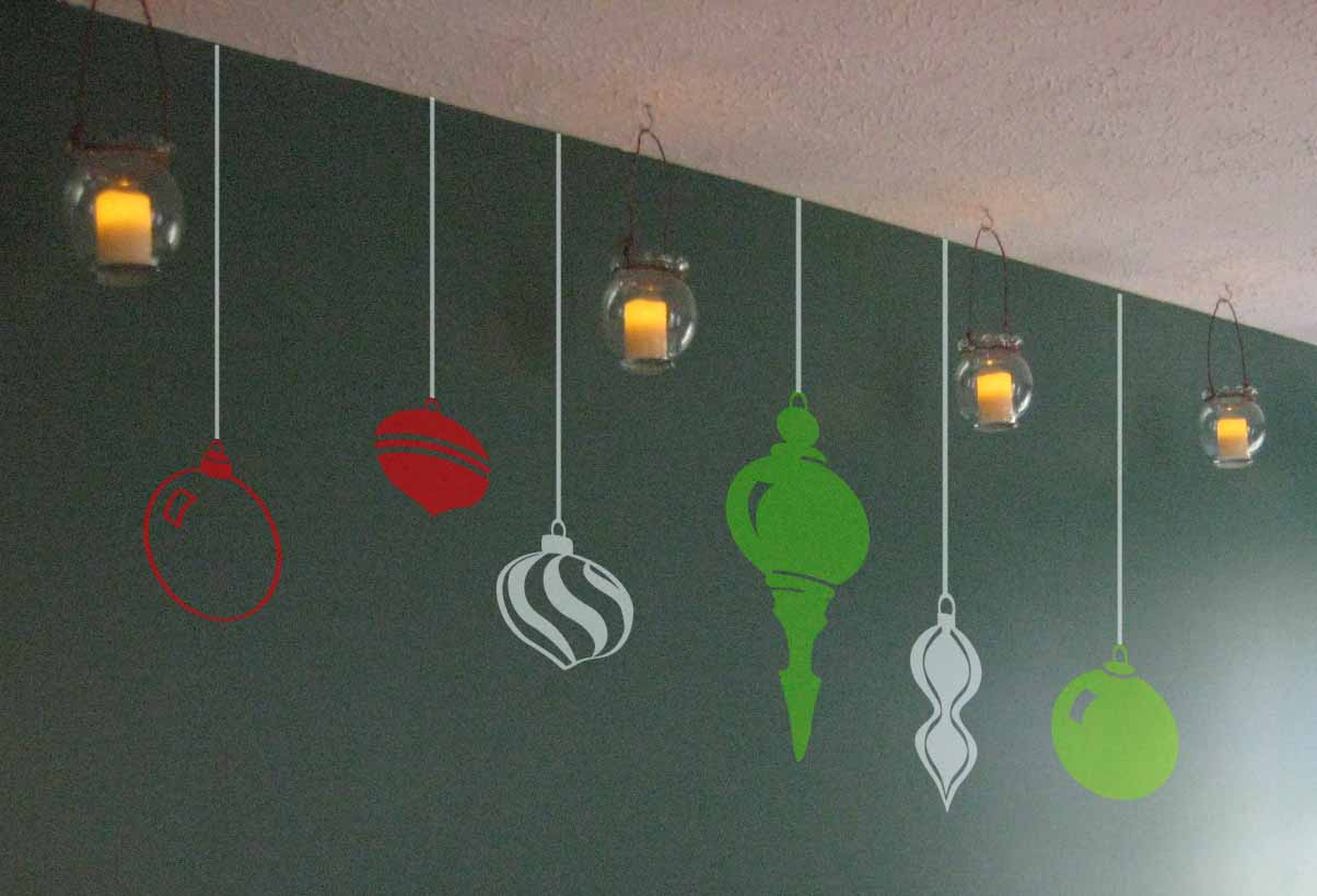 Hanging Ornament Pack Wall Decal