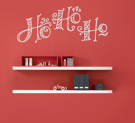 Ho Ho Ho Wall Decal