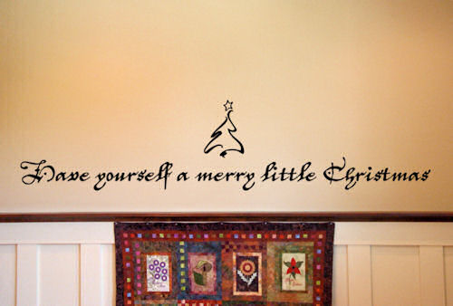 Merry Little Christmas | Wall Decals