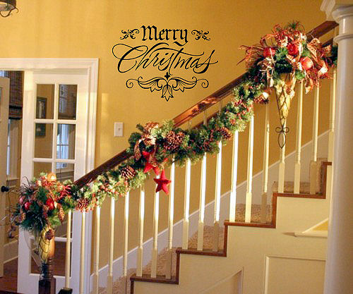 Merry Christmas - Fancy | Wall Decals