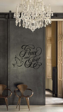 Peace and Joy | Wall Decals