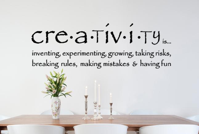 Creativity Wall Decal