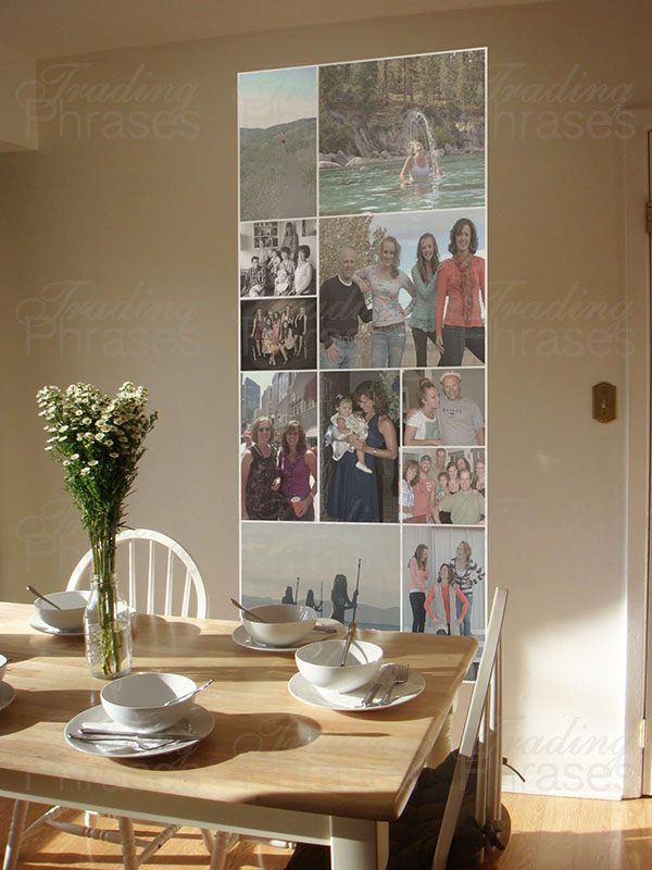 3 x 7 Vertical Photo Collage Print