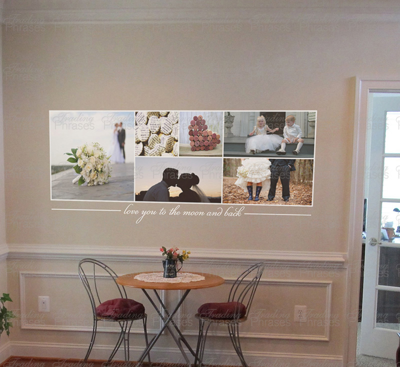 6 x 2 Photo Collage Print