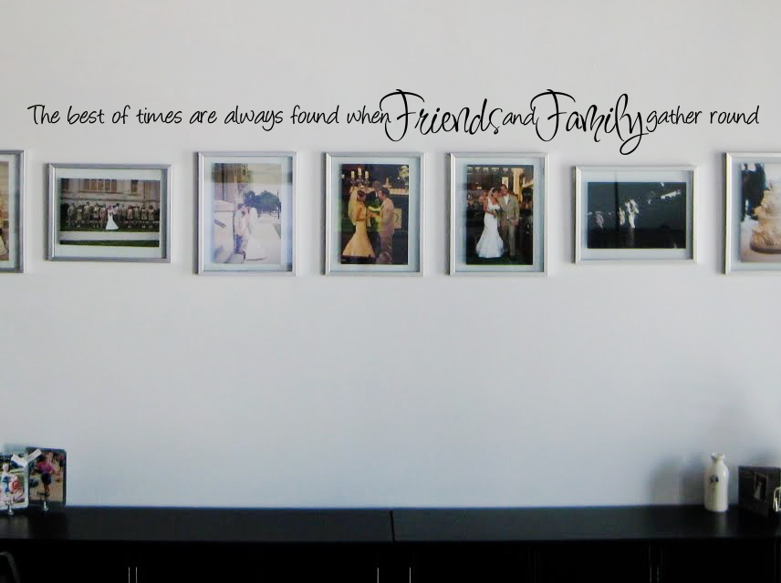 The Best Times Wall Decal