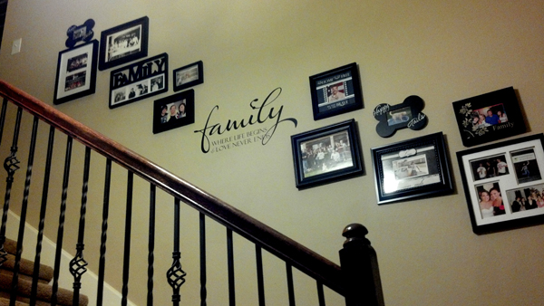 Family Where Life Begins 2 Wall Decal